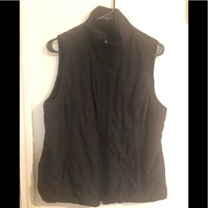 Black Sleeveless Vest